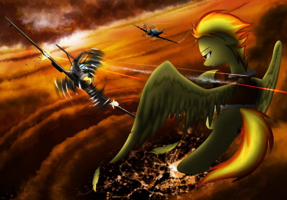 dog_fighting___spitfire_vs_bf_109_by_spi